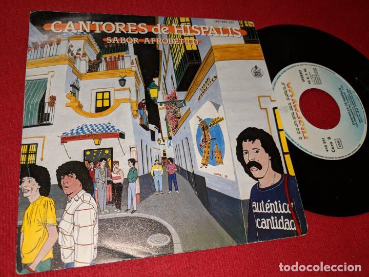 CANTORES DE HISPALIS SABOR AFROBETICO/COLOMBIANAS EL CARIOCO 7'' SINGLE 1985 HISPAVOX (Música - Discos - Singles Vinilo - Flamenco, Canción española y Cuplé)