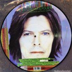 Discos de vinilo: HOURS - DAVID BOWIE PICTURE DISC LP MINT. Lote 155861246