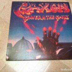 Discos de vinilo: SAXON - POWER AND THE GLORY . Lote 155861598