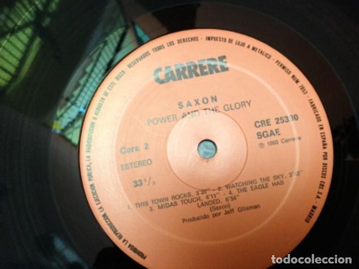 Discos de vinilo: Saxon - power and the glory - Foto 4 - 155861598