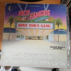 Discos de vinilo: BOYS TOWN GANG - A GOOD MAN IS HARD TO FIND. Lote 155865090