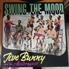 Discos de vinilo: JIVE BUNNY AND THE MASTERMIXERS - SWING THE MOOD. Lote 155866352