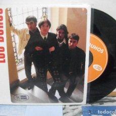 Discos de vinilo: LOS BUHOS ATRAPADO + 2 SINGLE SPAIN 1996 PDELUXE. Lote 155869278