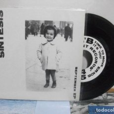 Discos de vinilo: LA SINTESIS SEPTEMBER EP SPAIN 1992 PDELUXE. Lote 155870162