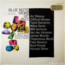 Discos de vinilo: VVAA – BLUE NOTE GEMS OF JAZZ - LP SPAIN 1967 - BLUE NOTE HBNS 451-01. Lote 155873462
