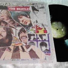 Discos de vinilo: THE BEATLES-ANTHOLOGY VOLUMEN 3-TRIPLE VINILO CON ENCARTE Y LIBRETO FOTOS. Lote 155884626