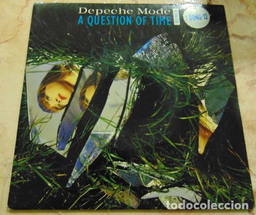 DEPECHE MODE – A QUESTION OF TIME (REMIX) - SINGLE UK (Música - Discos - Singles Vinilo - Techno, Trance y House)