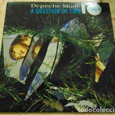Discos de vinilo: DEPECHE MODE – A QUESTION OF TIME (REMIX) - SINGLE UK. Lote 155889218