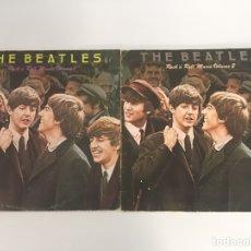 Discos de vinilo: THE BEATLES ROCK 'N' ROLL MUSIC VOLUME 1 Y 2 LP. Lote 155892348