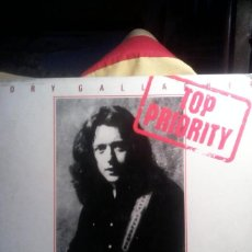 Discos de vinilo: RORY GALLAGHER - TOP PRIORITY .. Lote 155896130