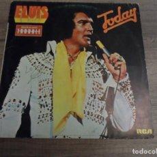 Discos de vinilo: ELVIS PRESLEY - TODAY (SPAIN 1975). Lote 155896330