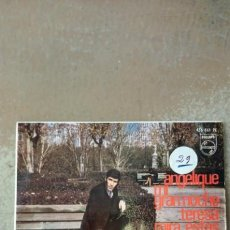 Discos de vinilo: FRANCISCO DE MIGUEL - ANGELIQUE / MI GRAN NOCHE / TERESA / MIRA ESTAS MANOS - EP VINILO -. Lote 155904820