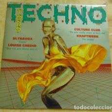 Discos de vinilo: VARIOUS – TODO TECHNO - SINGLE PROMO 1993. Lote 155911446