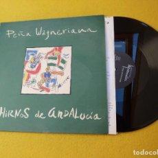 Discos de vinilo: MAXI SINGLE PEÑA WAGNERIANA – HIRNOS DE ANDALUCIA (EX-/EX) 1987 INNER Ç. Lote 155911834