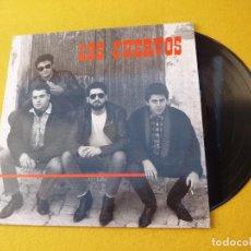 Discos de vinilo: MAXI SINGLE LOS CUERVOS-RARO COMO UN PERRO VERDE(EX+/EX)DISCOS MEDICINALES Ç. Lote 155912646