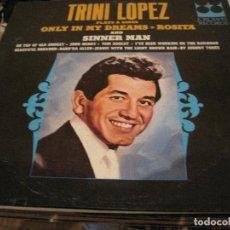 Discos de vinilo: LP TRINI LOPEZ/JOHNNY TORES CROWN 5481 196??? COUNTRY. Lote 155912670