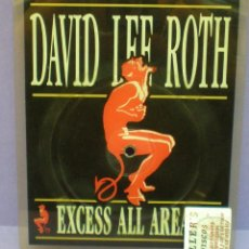 Discos de vinilo: DAVID LEE ROTH - SENSIBLE SHOES - SINGLE 7' SHAPE, PICTURE DISC. Lote 155915762