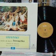 Discos de vinilo: LMV - STRAVINSKY. PETROUCHKA. LP. Lote 155916658