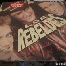 Discos de vinilo: LP LOS REBELDES MAS ALLA DEL BIEN Y DEL MAL EPIC + ENCARTE. Lote 155918774