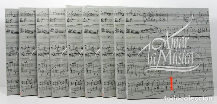 9 CAJAS DE CINCO DISCOS DE AMAR LA MUSICA, 45 DISCOS EN TOTAL . (Música - Discos de Vinilo - EPs - Clásica, Ópera, Zarzuela y Marchas)