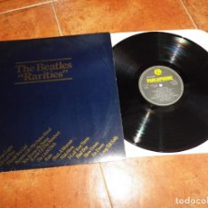 Discos de vinilo: THE BEATLES RARITIES LP VINILO 1978 PARLOPHONE HECHO EN POTUGAL PAUL MCCARTNEY MUY RARO 17 TEMAS. Lote 155926070