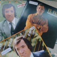 Discos de vinilo: LOTE DE 3 SINGLES ( VINILO) DE EL FARY. Lote 155932626