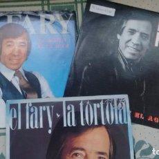 Discos de vinilo: LOTE DE 3 SINGLES (VINILO) DE EL FARY . Lote 155932730