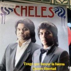 Discos de vinilo: SINGLE (VINILO) DE CHELES AÑOS 80. Lote 155933122