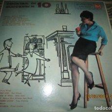 Discos de vinilo: COCKTAIL DI SUCCESSI N. 10 LP - ORIGINAL ITALIANO - RCA RECORDS 1959 - RCA NEW ORTHOPHONIC - MONO -. Lote 155934890