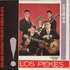 Discos de vinilo: LOS PEKES - CHAO, CHAO + 3 (EP NOVOLA 1965). Lote 155936682