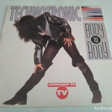 Discos de vinilo: TECHNOTRONIC - BODY TO BODY / LP ALBUM TEMAZOS RUTA DESTROY VALENCIA. Lote 155939070