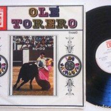 Discos de vinilo: LOS JAVALOYAS - OLE TORERO - LP AUSTRIACO - AMADEO - MUY RARO. Lote 155948842