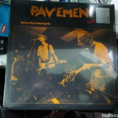 Discos de vinilo: PAVEMENT LP LIVE AT UPTOWN BAR IN MINNEAPOLIS 1992 PRECINTADO. Lote 155958598