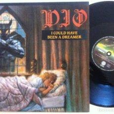 Discos de vinilo: DIO - I COULD HAVE BEEN A DREAMER - MAXI SINGLE ESPAÑOL 1987 - VERTIGO. Lote 155963422