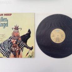 Discos de vinilo: URIA HEEP FALLEN ANGEL LP 1979 EURODISC BARCELONA. Lote 155963698