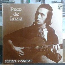 Discos de vinilo: PACO DE LUCIA FUENTE Y CAUDAL. Lote 230487695