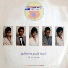 Discos de vinilo: 5 STAR. WHENEVER YOU'RE READY. MAXI-SINGLE.. Lote 155970422