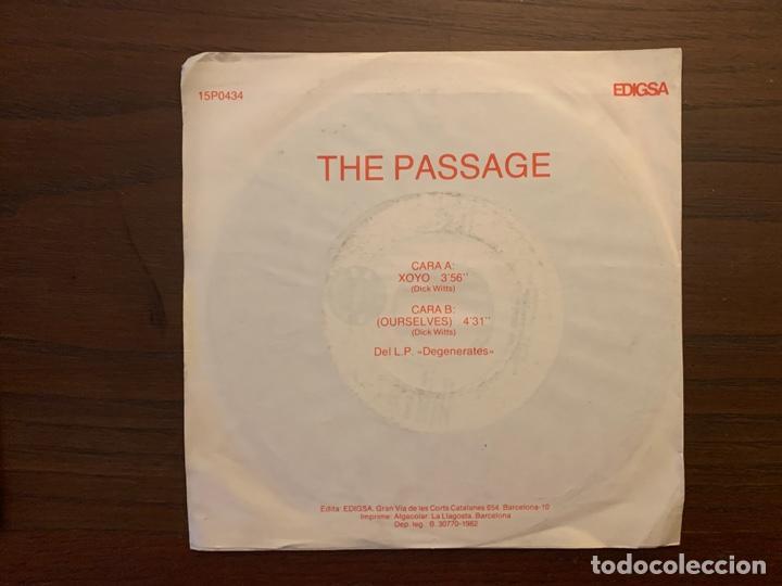 Discos de vinilo: The Passage ?– XOYO Sello: Edigsa ?– 15P0434 Formato: Vinyl, 7 , Promo País: Spain Fecha: 1982 - Foto 2 - 155971814