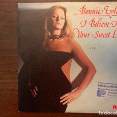 Discos de vinilo: BONNIE TYLER ?– I BELIEVE IN YOUR SWEET LOVE SELLO: RCA VICTOR ?– PB-5187 FORMATO: VINYL, 7 . Lote 155972882
