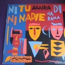 Discos de vinilo: ALASKA + DINARAMA MAXI SINGLE HISPAVOX 1985 - SIN ESTRENAR - PORTADA BERLANGA - . Lote 155973750