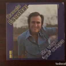 Discos de vinilo: MANOLO ESCOBAR – ME VOY PAL CAMPO SELLO: DB BELTER – 1-10-036 FORMATO: VINYL, 7 , 45 RPM, SINGLE. Lote 155974182