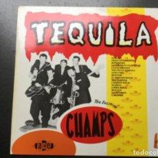 Discos de vinilo: THE CHAMPS - TEQUILA . Lote 155975474