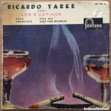 Discos de vinilo: RICARDO YARKE EP FONTANA AÑO 1960. Lote 155978050