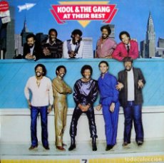 Discos de vinilo: KOOL & THE GANG. AT THEIR BEST.. Lote 155978906