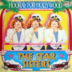 Discos de vinilo: THE STAR SISTERS. HOORAY FOR HOLLYWOOD.. Lote 155980654
