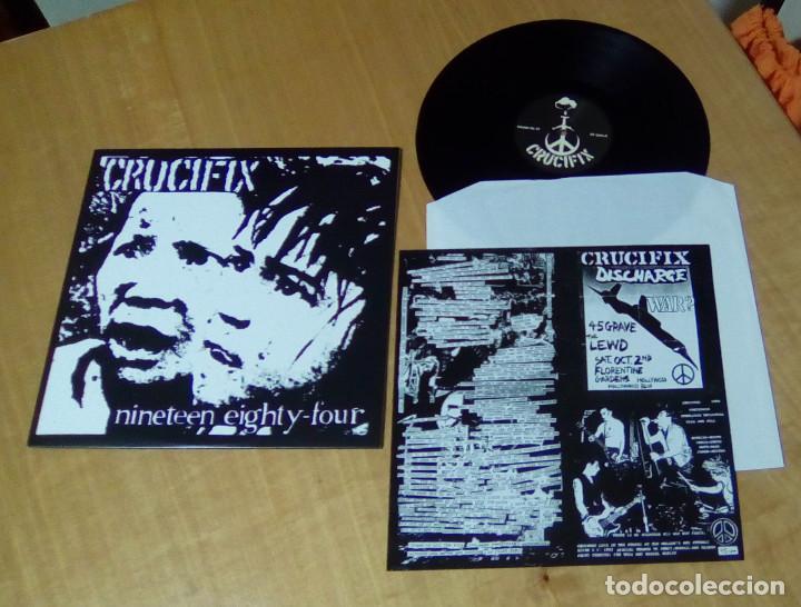 Discos de vinilo: CRUCIFIX - Nineteen Eighty-Four (LP reedición, con encarte) NUEVO - Foto 2 - 155982158