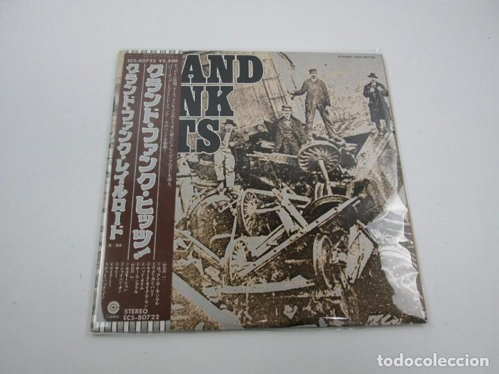 VINILO EDICIÓN JAPONESA DEL LP DE GRAN FUNK RAILROAD - GRAND FUNK HITS (Música - Discos - LP Vinilo - Pop - Rock - Internacional de los 70)