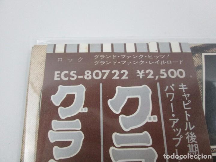 Discos de vinilo: VINILO EDICIÓN JAPONESA DEL LP DE GRAN FUNK RAILROAD - GRAND FUNK HITS - Foto 2 - 155987986