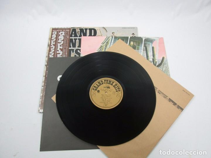 Discos de vinilo: VINILO EDICIÓN JAPONESA DEL LP DE GRAN FUNK RAILROAD - GRAND FUNK HITS - Foto 4 - 155987986