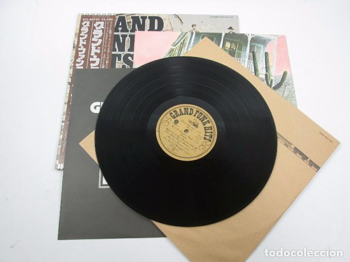 Discos de vinilo: VINILO EDICIÓN JAPONESA DEL LP DE GRAN FUNK RAILROAD - GRAND FUNK HITS - Foto 5 - 155987986